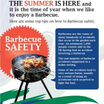 BBQ Safety Leaflet Front Cover
