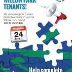 Calling All Willow Park Tenants