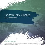 Community Development Grants