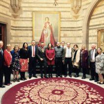Lord Mayor with WCHG Volunteers