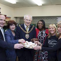 Lord Mayor Supports Wythenshawe Foodbank