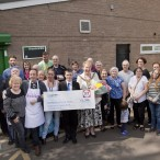 Lord Mayor donation to Bideford Centre in Baguley, Wythenshawe