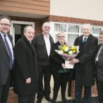 Sylvia and Alex Brennan welcomed to their new home on Glade Brook in Wythenshawe