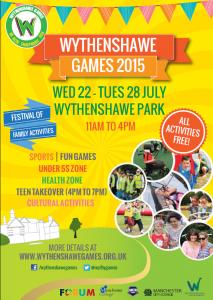 Wythenshawe Games General Flyer