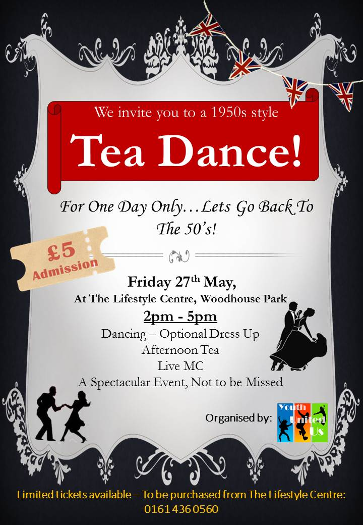 6a22aee1be305 1950's Tea Dance at the Lifestyle Centre - 27th May - WCHG